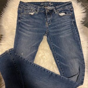 American Eagle Dark wash skinny jeans STRETCH
